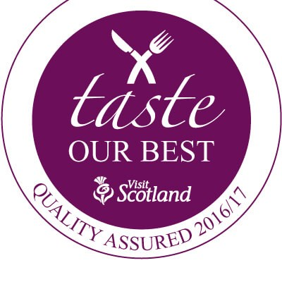 Taste Our Best Visit Scotland logo