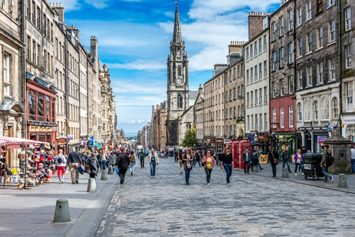 Visit Historic Royal Mile Edinburgh
