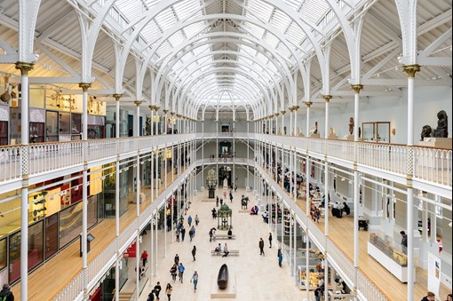 national museum of Scotland family attractions Edinburgh