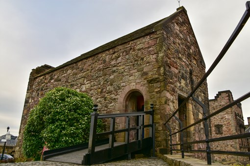 St Margarets Chapel historic site to visit in Edinburgh Scotland