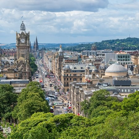Princes Street Shopping Edinburgh